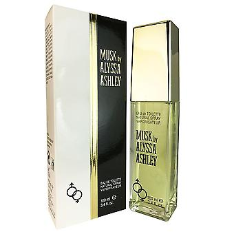 Musc d'alyssa ashley 3.4 oz eau de toilette vaporisateur