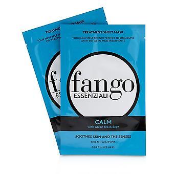 Fango essenziali rauhallinen hoito arkki naamarit 235787 4x25ml / 0.83oz