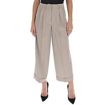 Fabiana Filippi Pad260w892a6110108 Women's Grey Cotton Pants