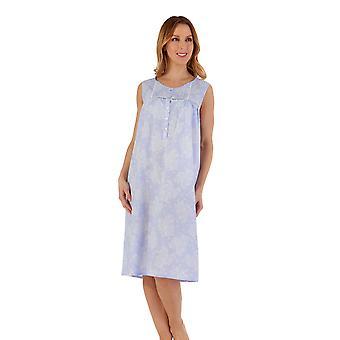 Slenderella ND55211 Women's Floral Cotton Nightdress