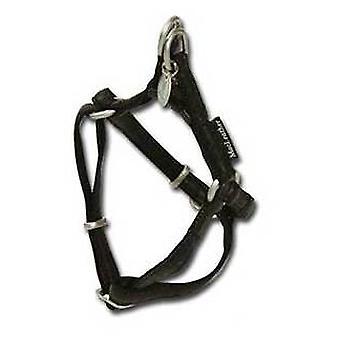 Nayeco musta koira valjaat MacLeather M (koirat, kaulus kaulanauha, johtaa ja valjaat, valjaat)