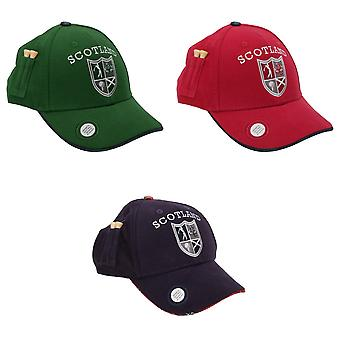 Scotland Golf Company 6 Panel Unisex Adults Cap With 2 Tees And Marker