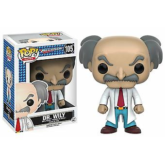 Funko Pop! Games Megaman - Dr. Wily Model Collectable Figurine Statue #105