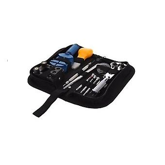Professionel 30pc Watch Reparation Tool Kit i Nylon Taske