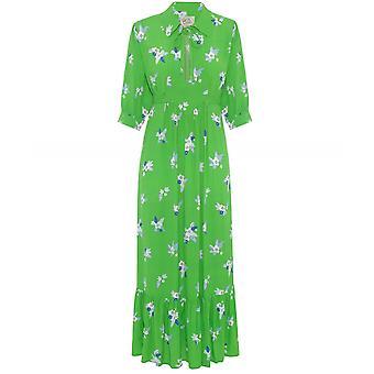 Ossie Clark x Primrose Park Loopy Lou Floral Midi Dress