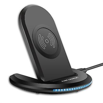Qi wireless charger fast charging phone holder for qi-enabled smart phone for iphone 11 pro max for samsung galaxy note 10+ huawei mate 30 pro