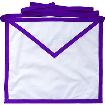 Masonic council royal & select master cotton duck cloth member apron