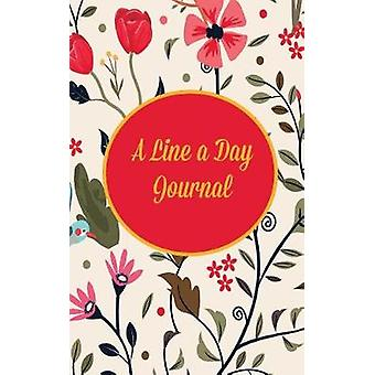 A Line a Day Journal Five Year Journal and Memory Book Traditional Floral by DP Journals and Notebooks