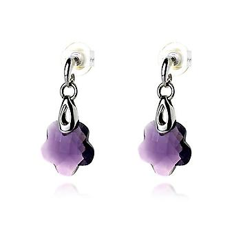 Ladies'Earrings Viceroy 1004E000-57 Purple (4 Cm)