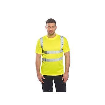 Portwest hi-vis workwear t-shirt s478