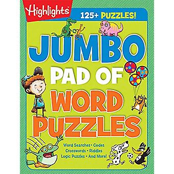 Jumbo Pad of Word Puzzles by Highlights - 9781684376544 Book