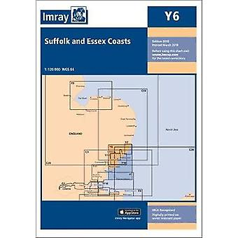 Imray Chart Y6 - Suffolk and Essex Coasts by Imray - 9781846239755 Book