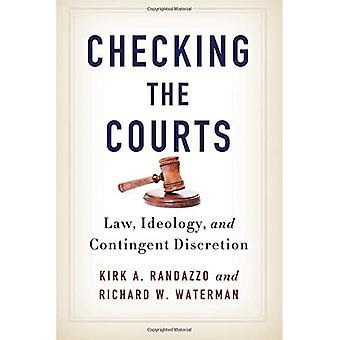 Sprawdzanie sądy: prawo, ideologii i uznania warunkowe (seria SUNY w American Constitutionalism)