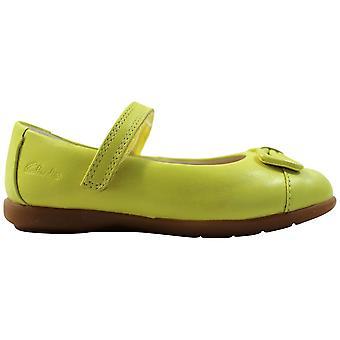 Clark's Dance Harper FST Lime Leather 26105633 Toddler