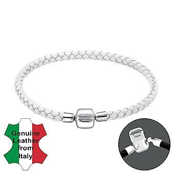 Plain - 925 Sterling Silver Bead Bracelets - W25120x