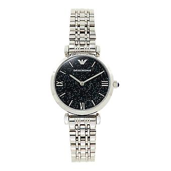 Armani Watches Ar11091 Blue & Stainless Steel Ladies Watch
