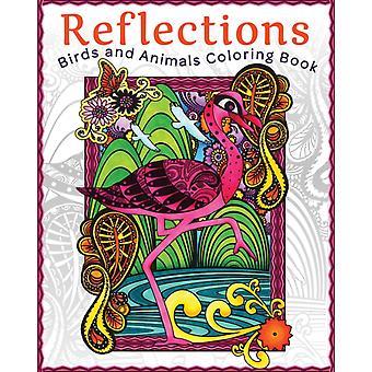 Reflecties Vogels en Dieren Kleurboek door Art House Design