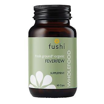 Fushi Wellbeing Wild Crafted Feverfew herb 333mg Veg Caps 60 (F0020790)