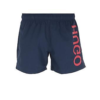 HUGO Saba Navy Swim Shorts