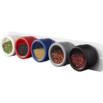 Avenue Main 5-Piece Spice Rack