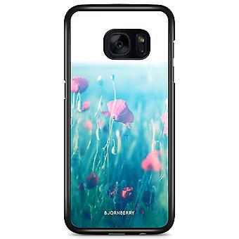 Bjornberry Shell Samsung Galaxy S7 Edge - Flowers