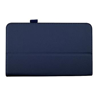"Magnetic PU Leather Case Cover voor Samsung Galaxy Tab 4 8"" T330[Blauw]"