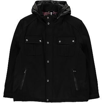 Cole Haan Wool Trucker Jacket Mens