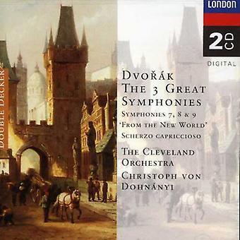 Dohnanyi/Cleveland Orch. - Dvor K: de 3 grote symfonieën [CD] USA importeren