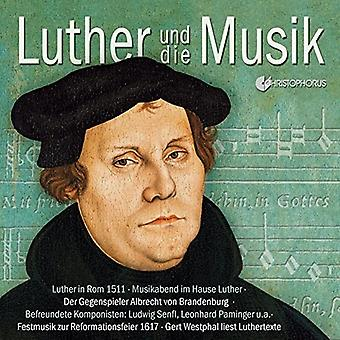 Various Artist - Luther & Music [CD] USA import