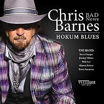 Chris Barnes - Hokum Blues [CD] USA import