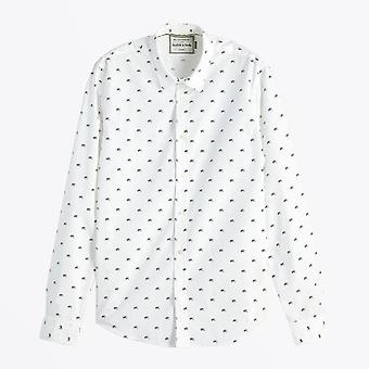 Scotch & Soda  - All-Over Printed Shirt - White
