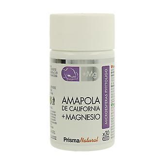 California Poppy + Magnesium Microspheres 30 capsules