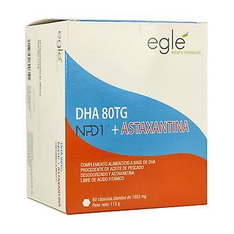 DHA / NPD1 80TG Astaxanthin 60 capsules