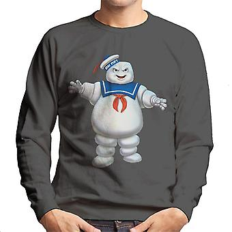 Ghostbusters Stay Puft Marshmallow Man Men's Sweatshirt
