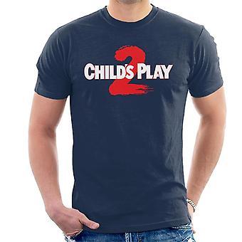Chucky Childs spelen 2 logo mannen ' s T-shirt