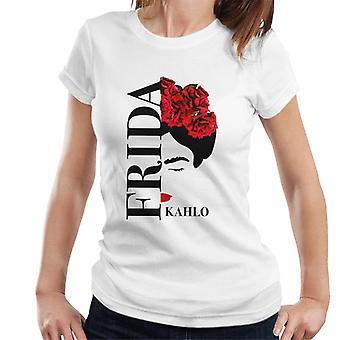 Frida Kahlo Red Rose Women's T-Shirt
