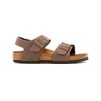 Birkenstock New York Birko-Flor Kids Mokka sandaalit