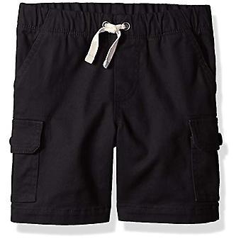 Essentials Big Boys' Cargo Short, Black Beauty, XL (12)
