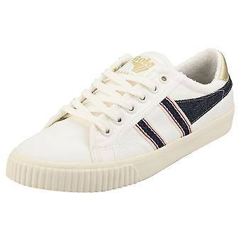 Gola Tennis Mark Cox Selvedge Naisten Muoti Trainers Off White