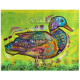 Stamplistic Electric Duck Cling Stamp