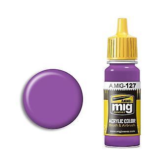 Ammo by Mig Acrylic Paint - A.MIG-0127 Purple (17ml)