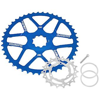 Blackspire Recognition Cassettes Extension 45 Teeth / Shimano 11-speed, blue