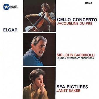 Elgar / Du Pre / Bakker / Barbirolli - Cello Concerto / zee afbeeldingen / Ouverture: Cockaign [CD] USA import