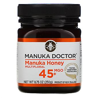 Manuka Doctor, Manuka Honey Multifloral, MGO 45+, 8,75 oz (250 g)
