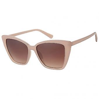 Sunglasses women sport A60779 14.5 cm beige/brown