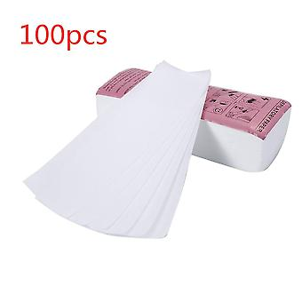 100pc/lot Epilator Wax Strip For Hair Removal Depilatory - Non Woven Paper Roll Waxing