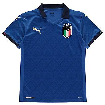 Puma Kinder Italien Home Shirt 2020 Junior Fußball Kurzarm dryCELL Print Replica