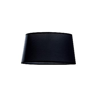 musta pyöreä varjostin 370mm x 205mm, sopii katto riipus valot