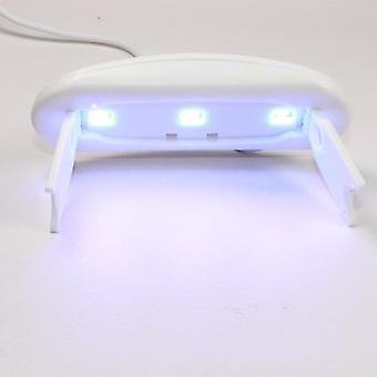USB Mini UV lampa stroj pro nail art a vysoušeč nehtů