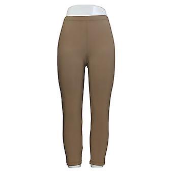 Women's Petite Pants (PXXS) Pull On Beige A381994